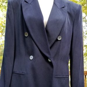 Dress Navy Blue Jones New Youk